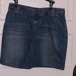 Women's size 8 Denim Skirt